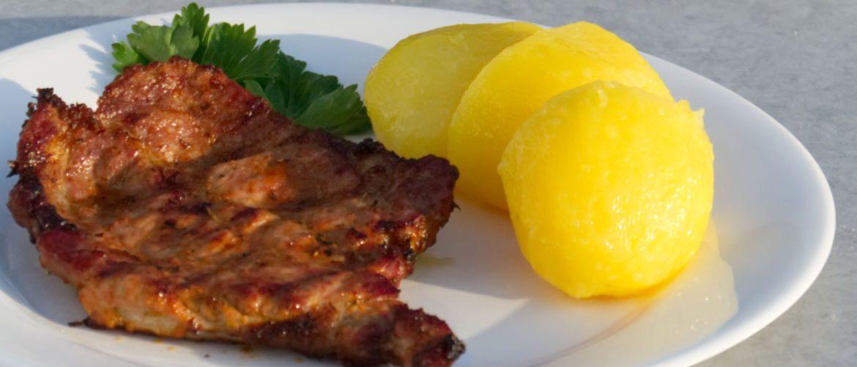Marinated pork neck steak polish style · Cooking the world