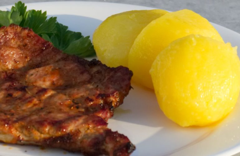 main bbq recipes marinated pork nack