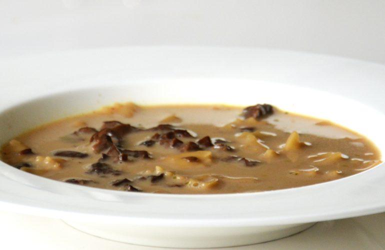 Polish Christmas Mushroom Soup
