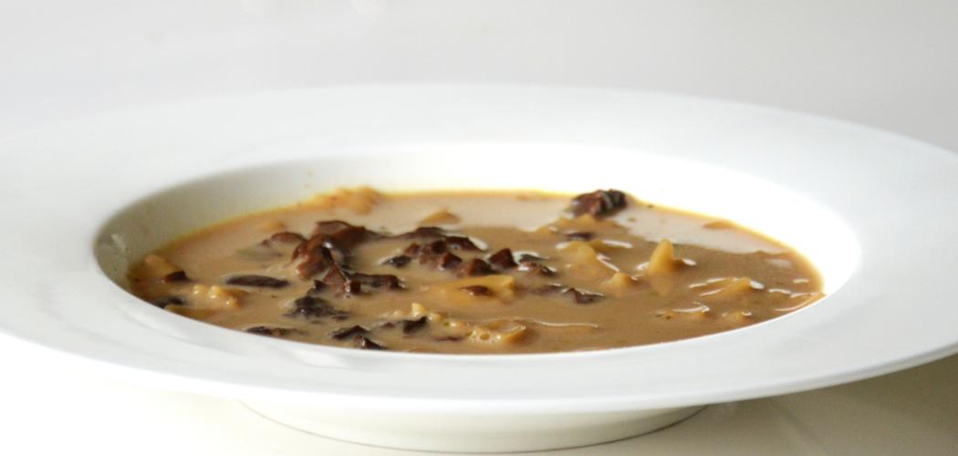 Christmas Soup.Polish Christmas Mushroom Soup