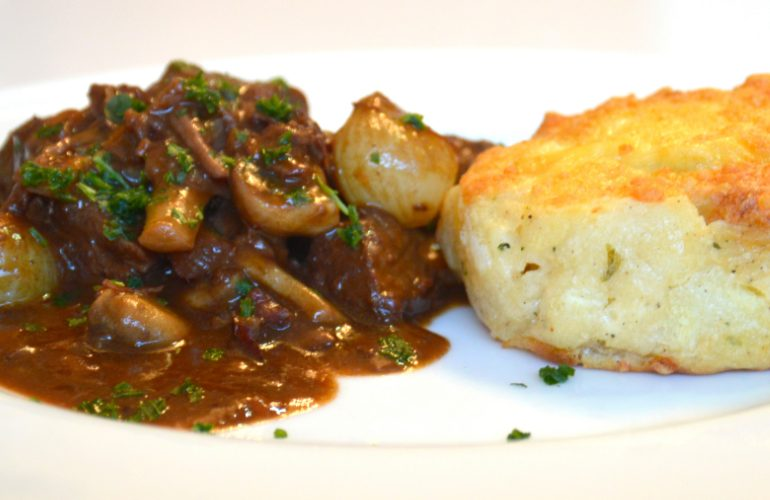 French beef bourguignon