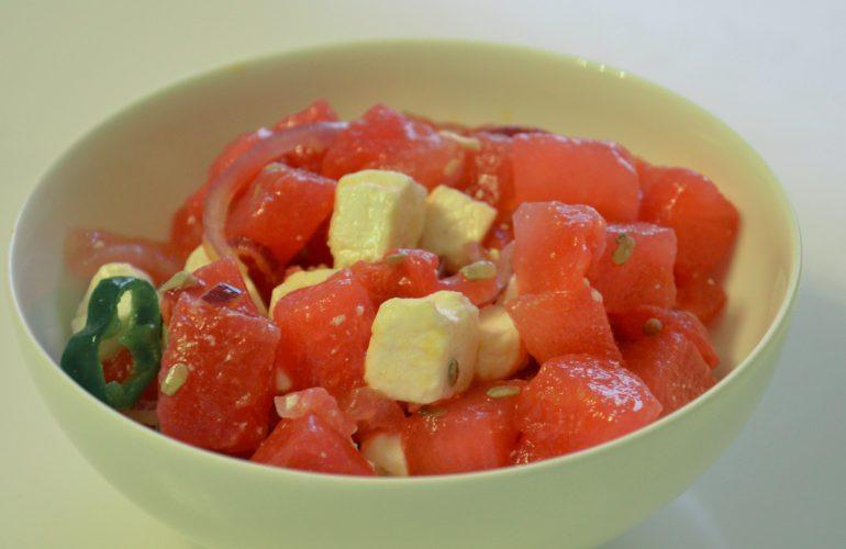 BBQ Watermelon Salad
