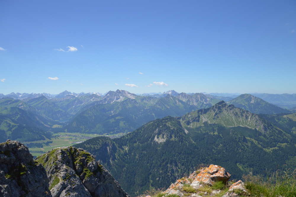 View from Aggenstein