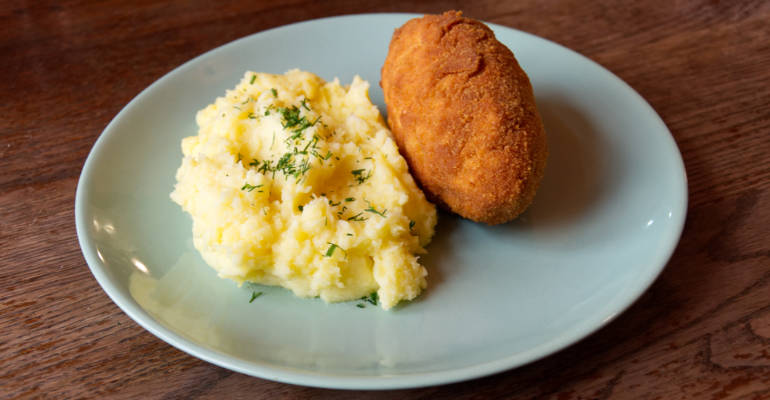 Traditional Polish Kotlet de volaille