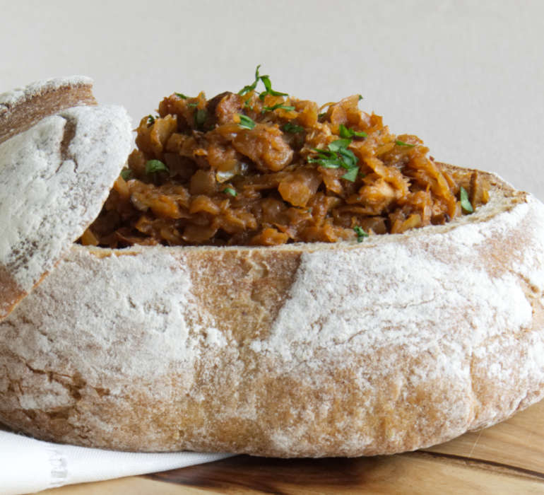 Traditional Polish Stew Cabbage Recipe - Bigos