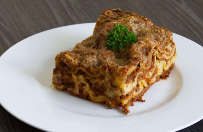 Traditional Italian Lasagna alla Bolognese