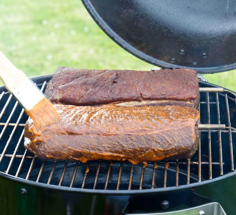 Roast Beef with BBQ Sauce