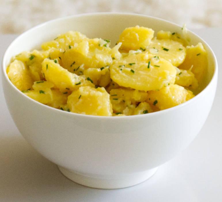 Traditional Swabian Potato Salad