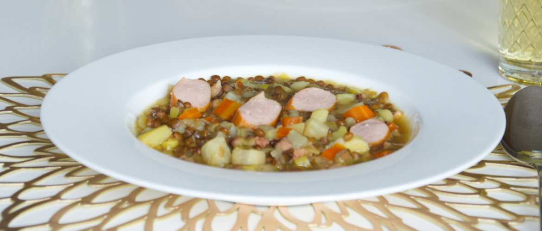 German Lentil Soup Traditional Recipe