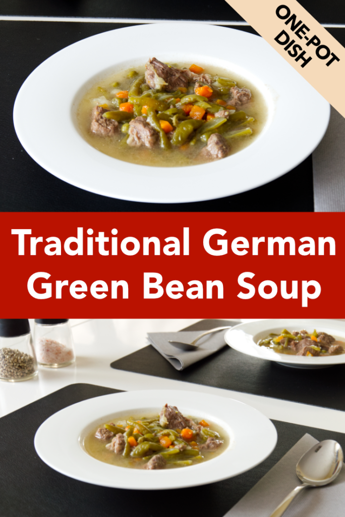 Traditional German Green Bean Soup