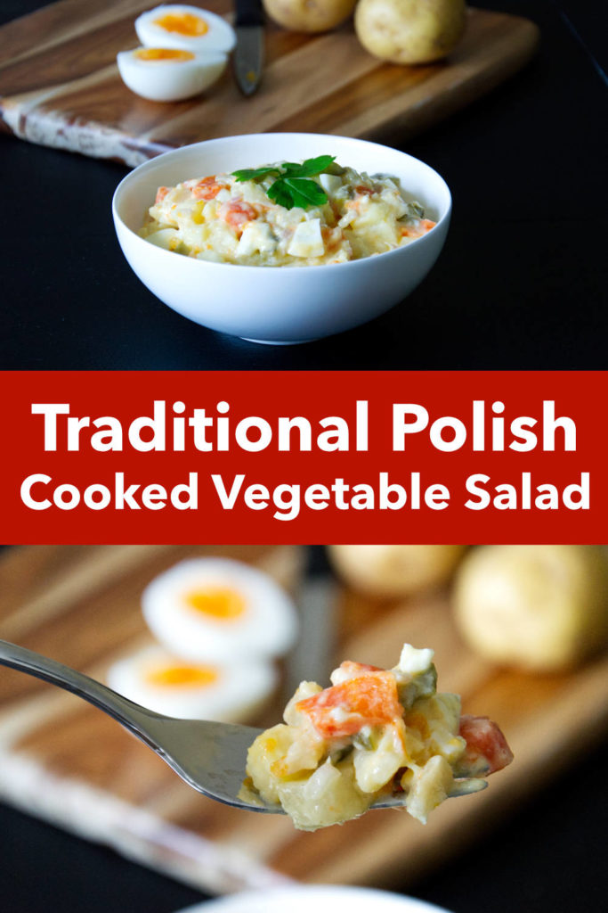Polish Cooked Vegetable Salad