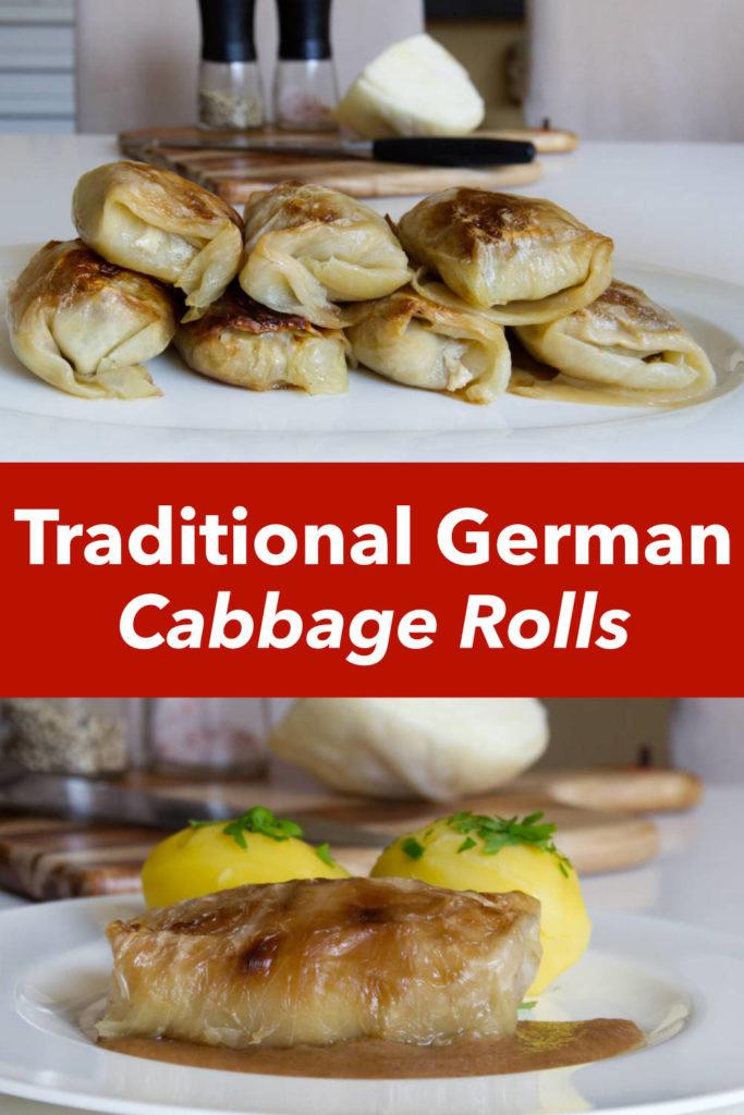 German Cabbage Rolls