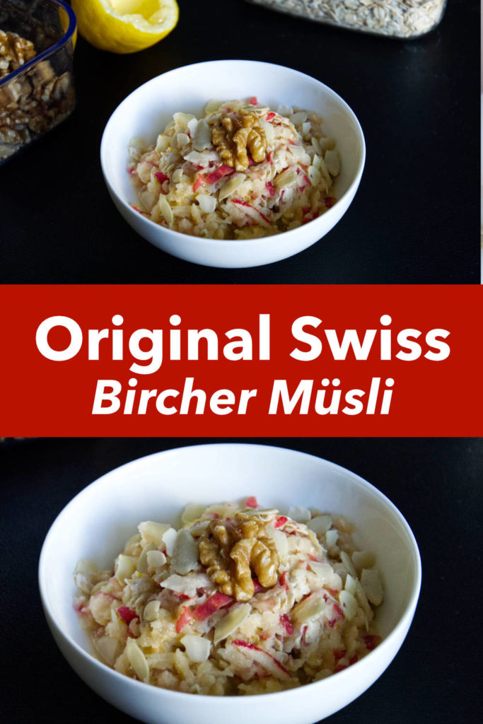 original Swiss Bircher Muesli