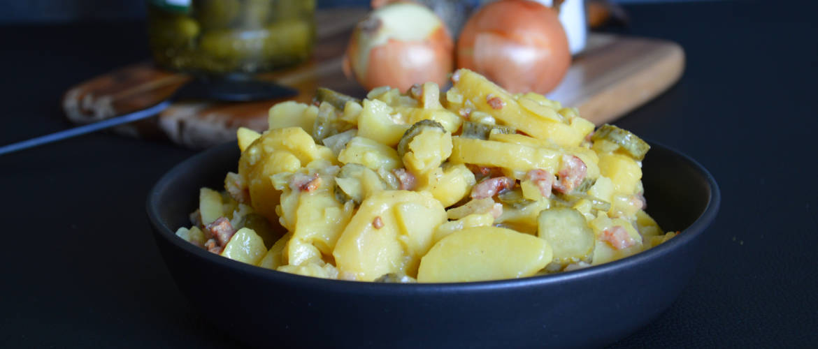 Traditional Bavarian Potato Salad