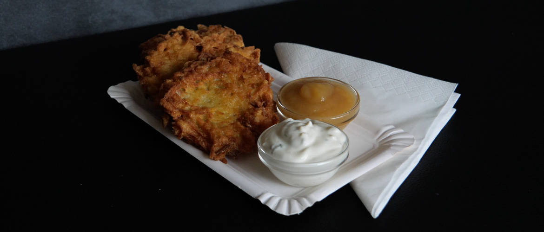 German Potato Pancakes – Like at the Christmas Market!